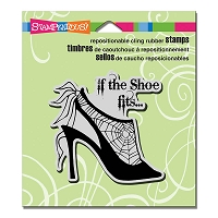 Stampendous Cling Mounted Rubber Stamps - Shoe Fits
