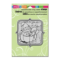 Stampendous Cling Mounted Rubber Stamps - EEK A BOO