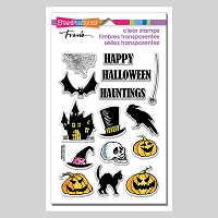 Stampendous Perfectly Clear Stamp - Halloween Haunts