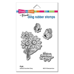 Stampendous - Sunshine Daisy Cling Rubber Stamp Set