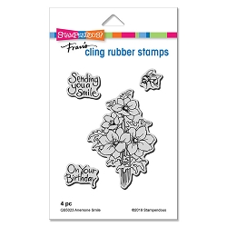 Stampendous - Anemone Cling Rubber Stamp Set