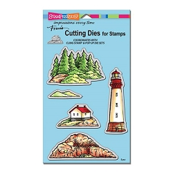 Stampendous - Cutting Die - Build A Lighthouse Die Set