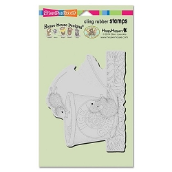 Stampendous Cling Mounted Rubber Stamps - House Mouse Designs - Dessert Dive Rubber Stamp