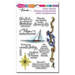 Stampendous Perfectly Clear Stamp - Nautical Anchor