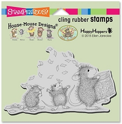 Stampendous Cling Mounted Rubber Stamps - House Mouse Designs - Tosssing Confetti