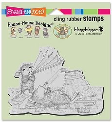 Stampendous Cling Mounted Rubber Stamps - House Mouse Designs - Keeping Cool