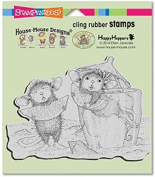 Stampendous Cling Mounted Rubber Stamps - House Mouse Designs - Lemon Sour
