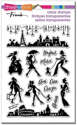 Stampendous Perfectly Clear Stamp - Sassy Travel