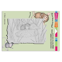 Stampendous Cling Mounted Rubber Stamps - House Mouse Designs - Ducky Nap