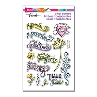 Stampendous Perfectly Clear Stamp - Bible Promises