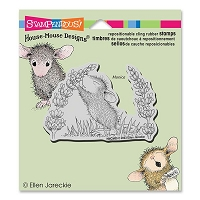 Stampendous - Cling Mounted Rubber Stamp - House Mouse Scent Of Lilac