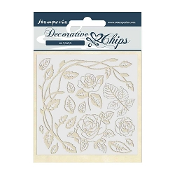 Stamperia - Passion Roses Laser-Cut Chipboard
