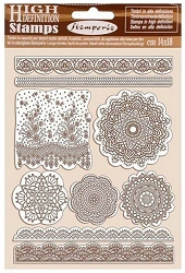 Stamperia - Cling Stamps - Passion Lace