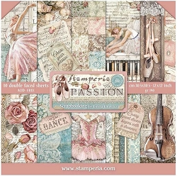 Stamperia - Passion - Paper Pack