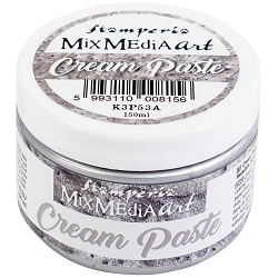 Stamperia - Mix Media Silver Cream Paste
