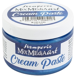 Stamperia - Mix Media Blue Cream Paste
