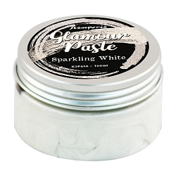 Stamperia - Glamour Paste:  Sparkling White