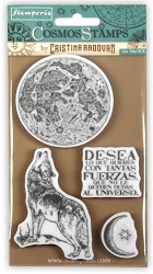Stamperia - Cling Stamps - Cosmos Wolf
