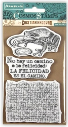 Stamperia - Cling Stamps - Cosmos Frog