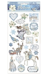 Stamperia - Winter Tales 6x12 Chipboard Stickers