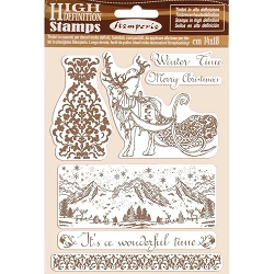 Stamperia - Cling Stamps - Winter Tales Winter Time