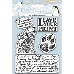 Stamperia - Cling Stamps - Arctic Antarctic Leave Your Print