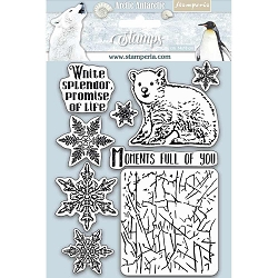 Stamperia - Cling Stamps - Arctic Antarctic Moments Full Of You