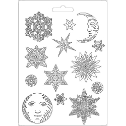 Stamperia - Winter Tales Snowflakes A4 Soft Maxi Mould