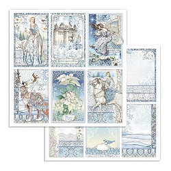 Stamperia - Winter Tales - Cards 12