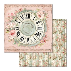 Stamperia - House of Roses - Clock 12