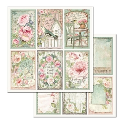Stamperia - House of Roses - Cards & Frames 12