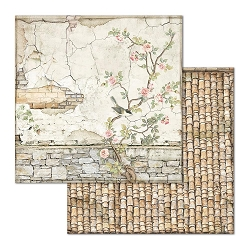 Stamperia - House of Roses - Small Bricks with Tree 12