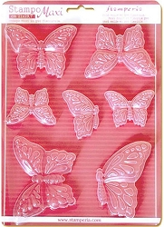 Stamperia - Stampo Maxi PVC Mold - Butterflies
