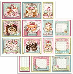 Stamperia - Sweety - Cakes 12
