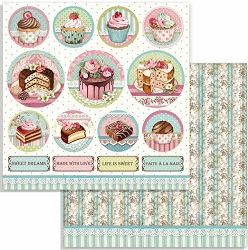 Stamperia - Sweety - Mini Cake Rounds 12