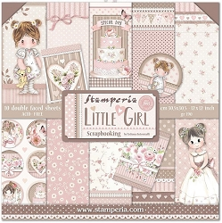 Stamperia - Little Girl - Paper Pack
