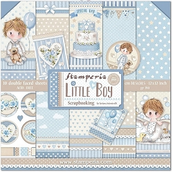 Stamperia - Little Boy - Paper Pack