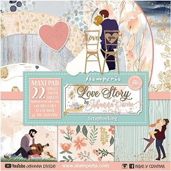 Stamperia - Love Story Collection