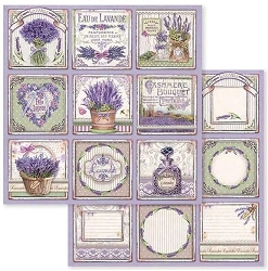 Stamperia - Provence - Cutout Cards 12