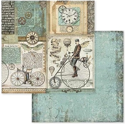 Stamperia - Voyages Fantastiques - Retro Bicycle 12
