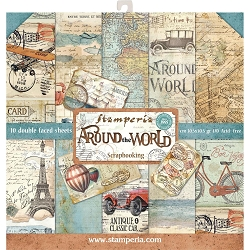 Stamperia - Around The World - Paper Pack
