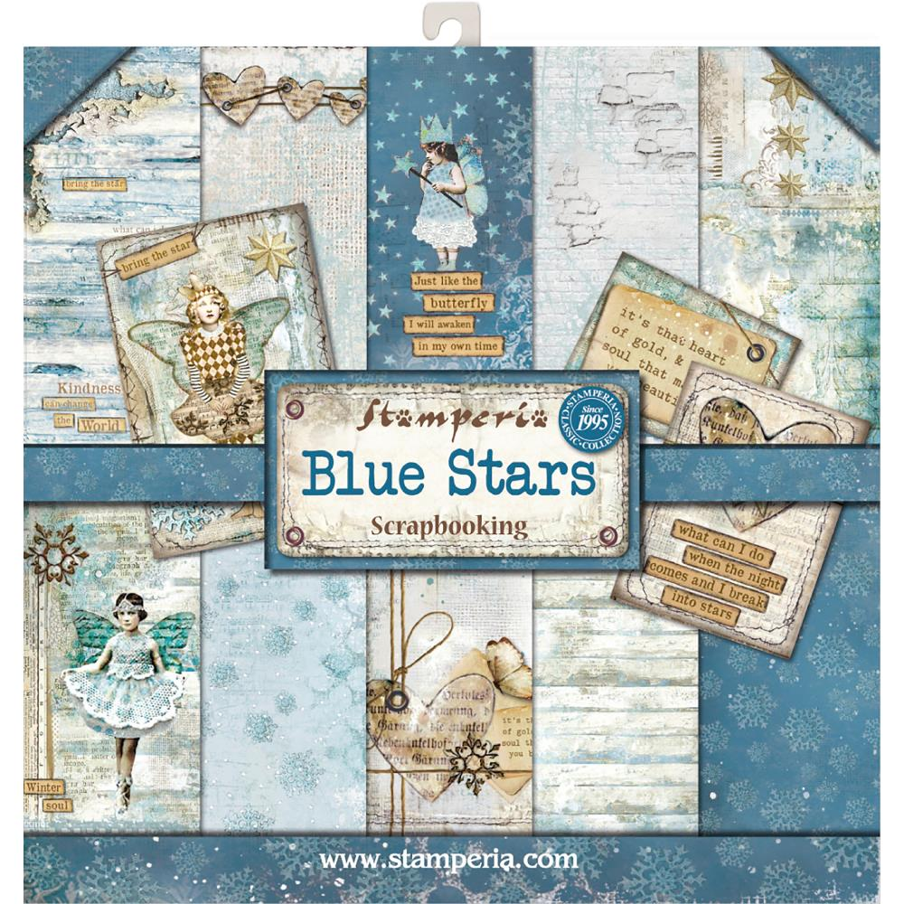 Stamperia - Blue Stars Collection