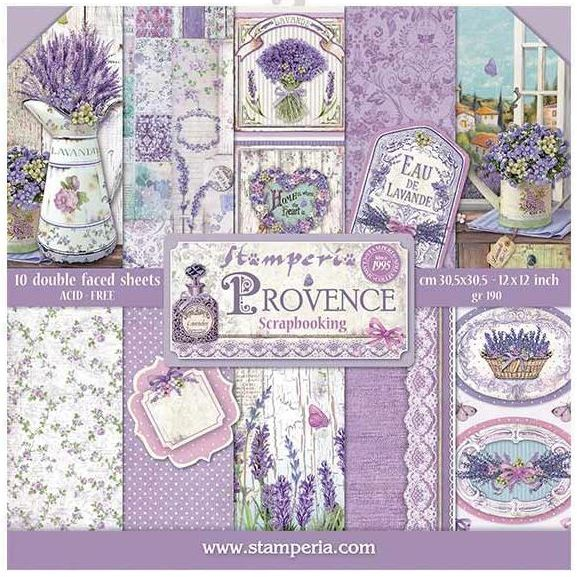 Stamperia - Provence Collection