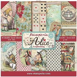 Stamperia - Alice - Paper Pack