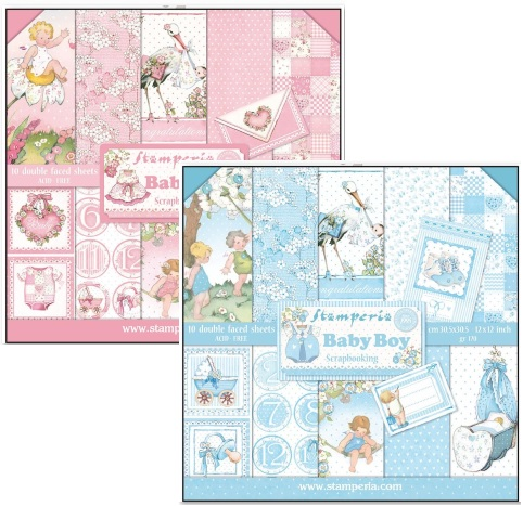 Stamperia - Baby Boy & Baby Girl Collections