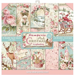 Stamperia - Pink Christmas - Paper Pack