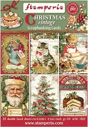 Stamperia - Christmas Vintage - Journaling Cards