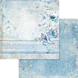 Stamperia - Blue Land - Flower 12