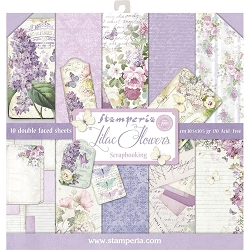 Stamperia - Lilac Flowers - Paper Pack