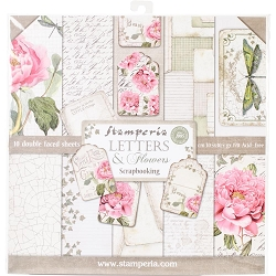 Stamperia - Letters & Flowers - Paper Pack